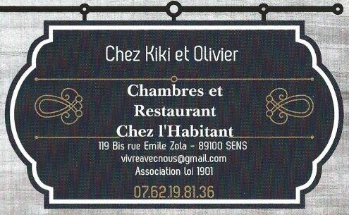 Chambres et restaurant, chez Kiki et Olivier
